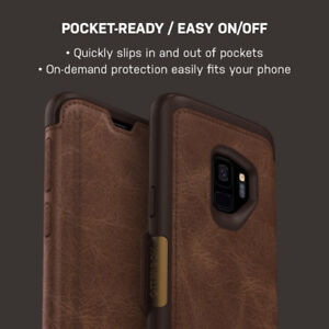 OtterBox Galaxy S9 Strada Folio Leather Brown/Brown for sale  Ville Montréal