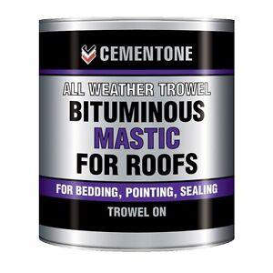 Bitumen over mastiek