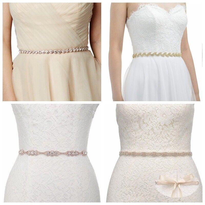 Crystal Bridal Belt Rhinestone Wedding Belt Bridal Sash Bridesmaid Prom Sash