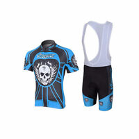 Men's Comfortable Cycling/Biking Jersey Bib Shorts Set