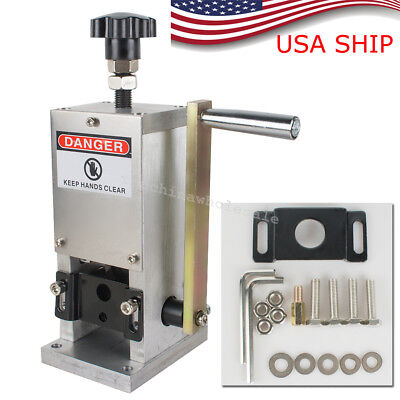 Manual Wire Stripping Machine Copper Cable Peeling Stripper Tool Drill Connector