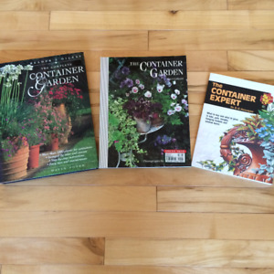3 Books on Container Gardening