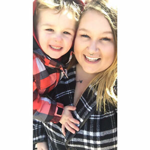 Working Single Mom and Son need apartment
