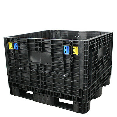 Duragreen 45 X 48 X 34 Medium-duty Collapsible Bulk Container 2 Doors