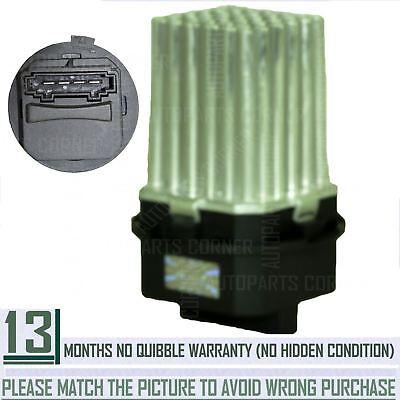 HEATER BLOWER FAN MOTOR RESISTOR FOR CITROEN C3, C4, C5, DS3, PEUGEOT 307, 407