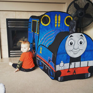 Thomas the Train tent