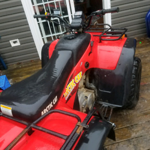 2001 artic cat 400 4x4 with winch