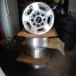 """2011 and newer GMC 17"""" OEM rims wheels and caps"""
