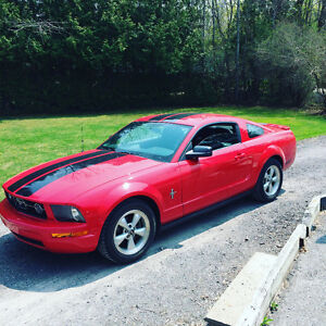 2007 Ford Mustang Red Coupe (2 door)
