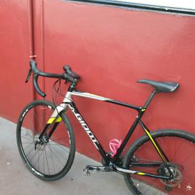 Gravel cyclocross adventure Road bike