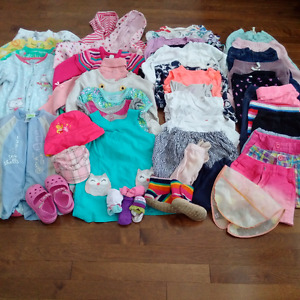 Everything you'll need for a baby girl 2T (55+ Items)