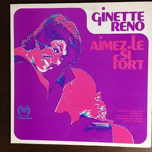 Disque vinyl Ginette Reno  33rmp