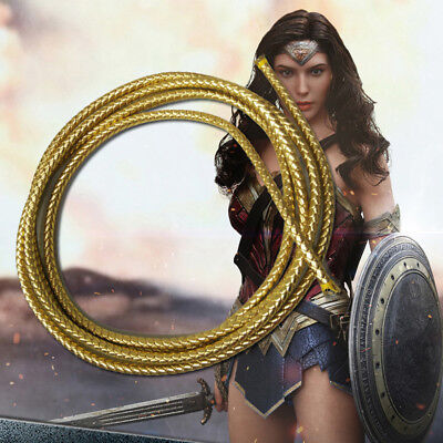 Wonder Woman Lasso of Truth Rope Prince Diana Cosplay Weapon Halloween Props