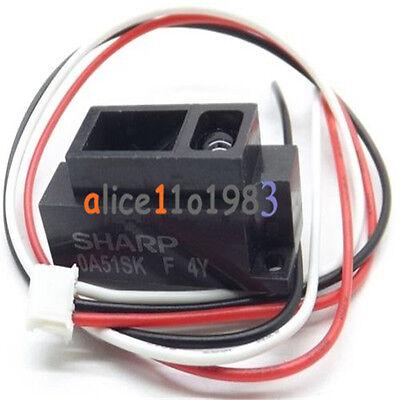 2pcs Sharp Gp2y0a51sk0f 2-15cm Infrared Proximity Distance Sensor