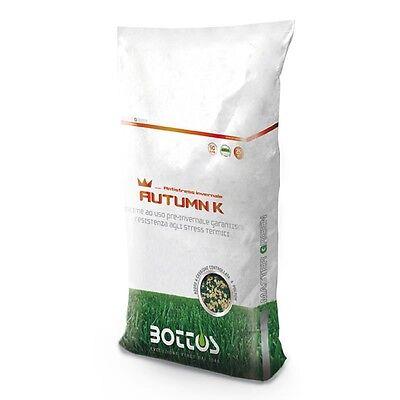 Concime fertilizzante autunnale per il prato AUTUMN K Bottos 21-0-25 da KG 25