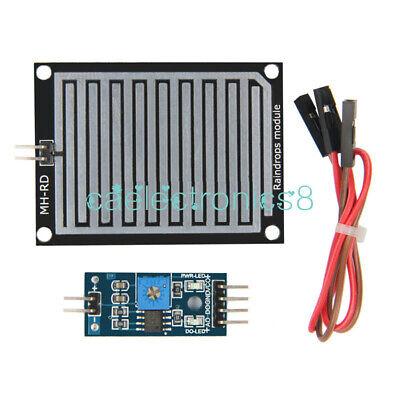 Raindrops Detection Sensor Modue Rain Module Weather Module Humidity For Arduino