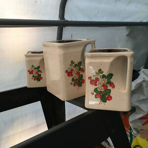 STORAGE CERAMIC JARS LIKE NEW $15.00