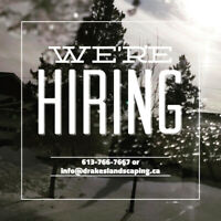 HIRING FOR SNOW SHOVELER POSITION