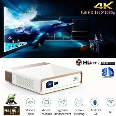 Konka 10000 Lumens 4K Ultra High Definition Home Theater Dlp Video Projector