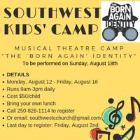 Kids' Musical Theatre Summer Camp