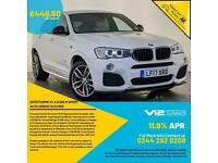 2017 BMW X4 XDRIVE20D M-SPORT AUTO SAT NAV PARKING SENSORS 1 OWNER SVC HISTORY