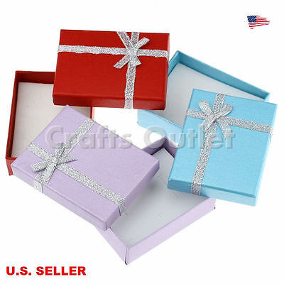 Necklace gift box lotebay 1 lot of 10pcs multicolor jewelry gift boxes necklace pendant earring boxes9x7x3cm negle Image collections