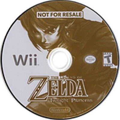 Legend of Zelda Twilight Princess Kiosk Demo Disc comprar usado  Enviando para Brazil