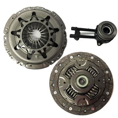 COMPLETE 3 PART CLUTCH KIT WITH CSC FOR FORD FIESTA V HATCHBACK 1.4 TDCI