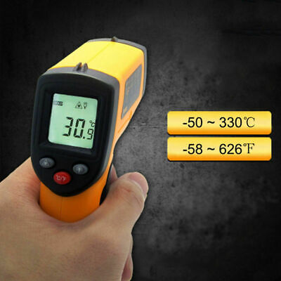 Non-contact Digital Laser Ir Infrared Thermometer 320-en-00 Industrial