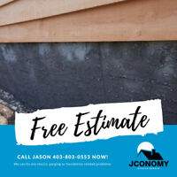 Foundation Repair - Jconomy Stucco Services in Medicine hat