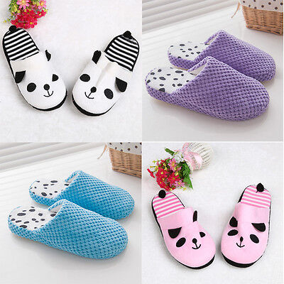 Winter Autumn Women Cute Coral Velvet Sandal House Home Anti-slip Slipper Shoes