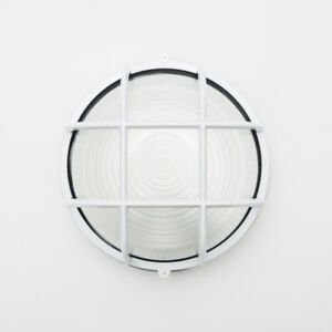 Outdoor Wall Light (White)