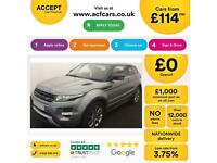 Land Rover Range Rover Evoque FROM £114 PER WEEK!