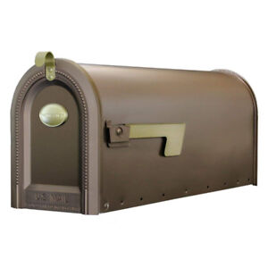 New Postmaster MB420 Mailboxes Windmere Post Mount Rural Mailbox