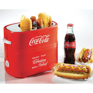 3 vintage coke hot dog toasters that toasts buns and hot dogs