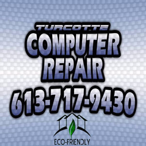 Turcotte Computers, your one-stop shop and repair!