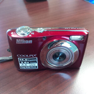 Nikon COOLPIX L24 14 MP Digital Camera