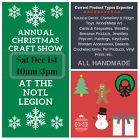 2nd Annual NOTL Legion Handmade Craft Show