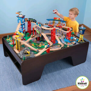 Kidcraft Super Highway Train Set And Table