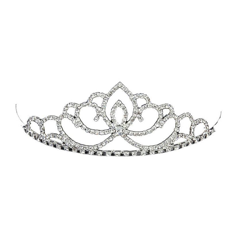 Wedding Rhinestone Bridal Crystal Hair Headband Crown Combm Pageant Sell