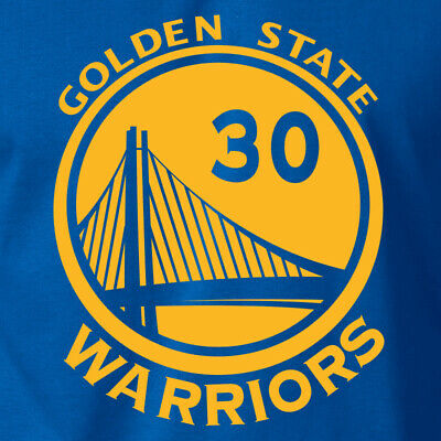 Golden State Warriors STEPHEN CURRY #30 T-SHIRT GSW Basketball 2019 Champs -