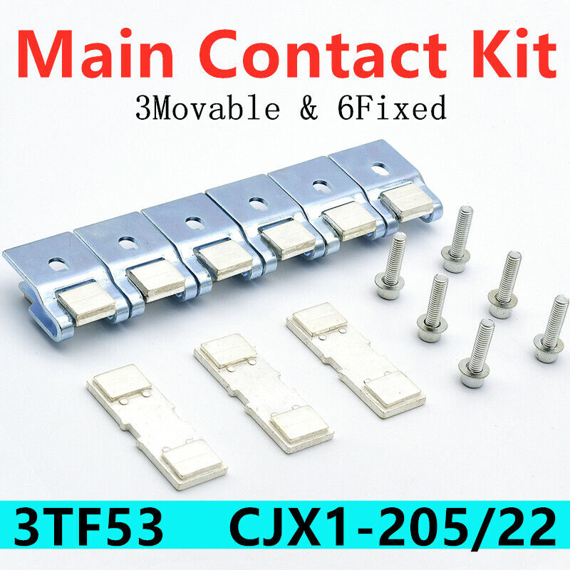 3TY7530-OA 3TY7530-0A NEW Main Contact for Contactor Kit Fit for Siemens 3TF53