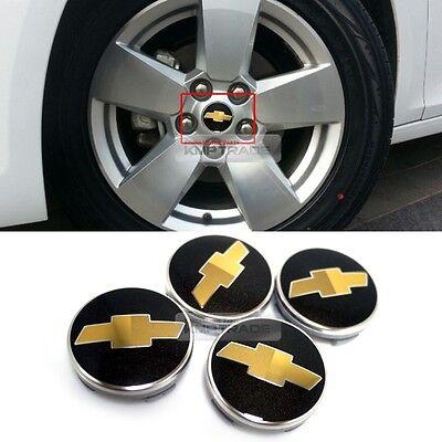 OEM Wheel Center Cap Emblem Badge Cover Black for Chevrolet 2012 - 2015 Malibu