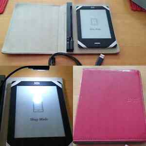 Kobo with case and light