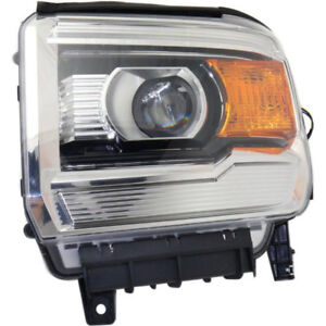 Headlight assembly 2015 GMC Sierra 1500