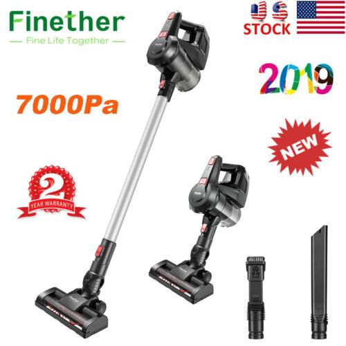 Finether Cordless Handheld Stick Vacuum Cleaner Carpet Floor