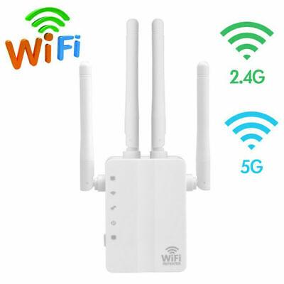1000Mbps WiFi Range Extender Repeater Wireless Range Extender Signal Booster 5G