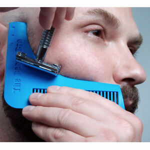 The Beard Bro Facial Hair Shaping Tool Perfect Christmas Gift