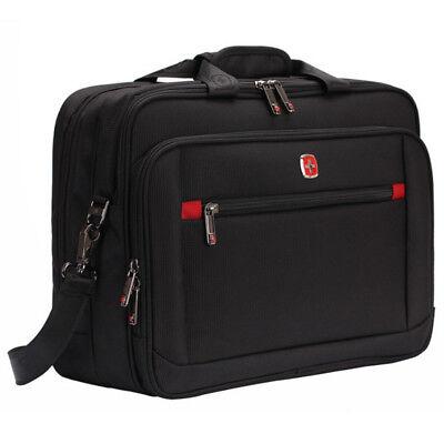 Swiss Gear Laptop Messenger Shoulder Bag 15.4 Wenger Briefcase Backpack Handbag ()