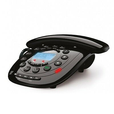 Binatone iDECT Carrera Classic Corded Telephone Lcd Display Answering Machine